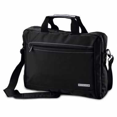 Aktetas laptoptas 15 6 inch zwart 10 liter