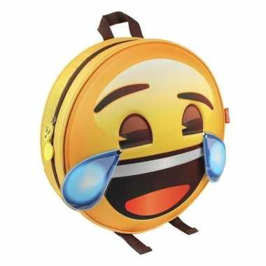 Emoji 3d rugtas lol emoticon voor volwassenen