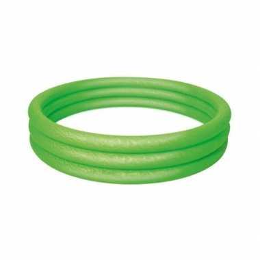 Groen opblaasbaar mini zwembad