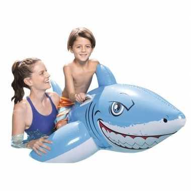 Grote haai opblaasbaar 1.83 m x 1.02 m