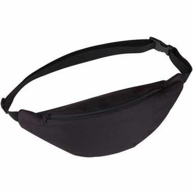 Heuptasje buideltasje fanny pack zwart 35 cm