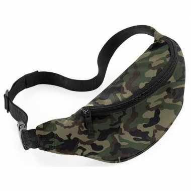 Heuptasje fanny pack camouflage leger print 38 x 14 x 8 cm