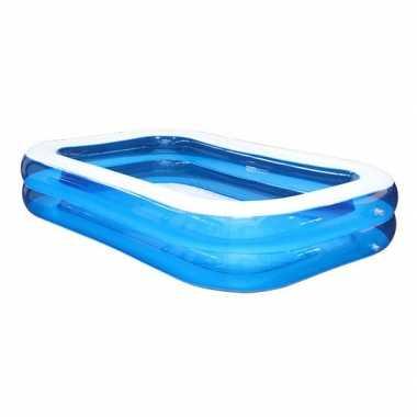 Opblaasbaar rechthoekig zwembad 262 x 175 x 51 cm