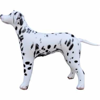 Opblaasbare dalmatier hond 75 cm decoratie/speelgoed
