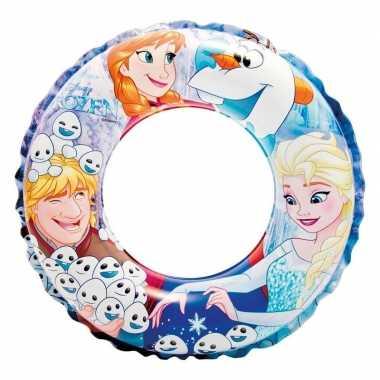 Opblaasbare disney frozen zwemband/zwemring 51 cm