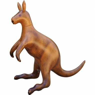 Opblaasbare kangoeroe 75 cm decoratie/speelgoed