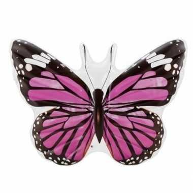 Opblaasbare vlinder 191 cm luchtbed/ride-on speelgoed