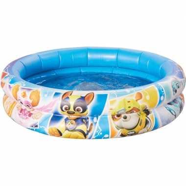 Paw patrol opblaasbaar zwembad babybadje 74 x 18 cm speelgoed