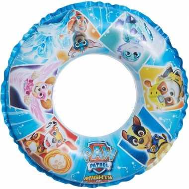 Paw patrol opblaasbare zwemband/zwemring 45 cm kids speelgoed