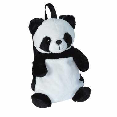 Pluche panda beer rugzak rugtas knuffel 33 cm