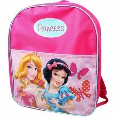 Roze disney princess schooltas voor meisjes
