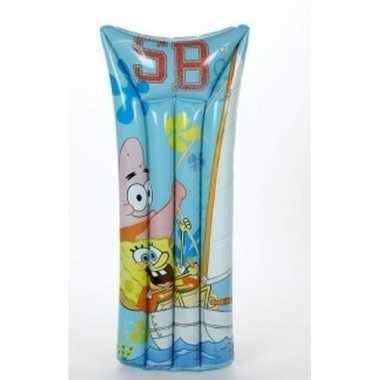 Spongebob opblaasbaar luchtbed 140 x 64 cm