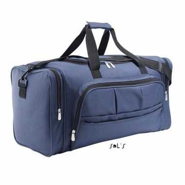 Sporttas donker blauw 62 cm