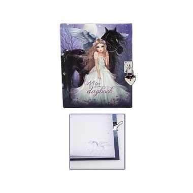 Topmodel fantasy dagboek met slotje type 1