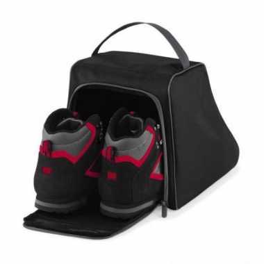 Zwarte opberg tas voor schoenen