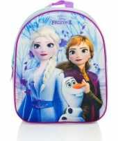 Disney frozen rugtas rugzak 3d voor meisjes