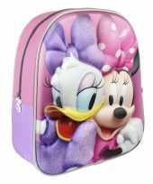 Disney minnie mouse katrien duck school rugtas rugzak voor peuters kleuters kinderen