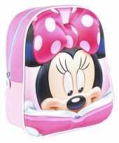 Disney minnie mouse met boek school rugtas rugzak voor peuters kleuters kinderen