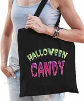 Halloween candy snoep tas zwart voor dames