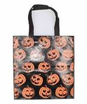 Halloween tas voor snoep zwart 10126860