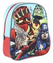 Marvel the avengers school rugtas rugzak voor peuters kleuters kinderen