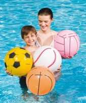 Opblaasbare strandbal voetbal 41 cm