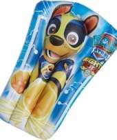 Paw patrol opblaasbaar luchtbed chase 65 x 40 cm kids speelgoed