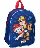 Paw patrol pups team paw school rugtas rugzak voor peuters kleuters kinderen