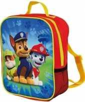 Paw patrol rugzak rugtas 27 cm voor kinderen