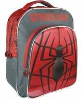 Spiderman rugtas rugzak 30 x 41 cm voor jongens