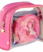 Toilettas make up tassen set prinses voor kinderen